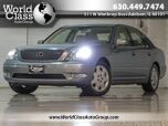2003 Lexus LS 430 LEATHER SEATS SUN ROOF WOOD GRAIN INTERIOR NAVIGATION