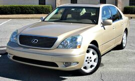 2003_Lexus_LS 430_w/ LEATHER SEATS & SUNROOF_ Lilburn GA