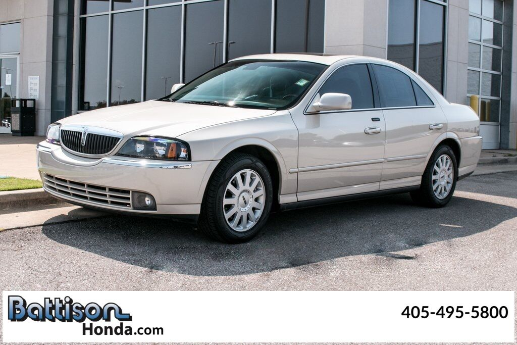 2003_Lincoln_LS_V6_ Oklahoma City OK