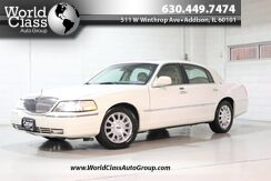 2003_Lincoln_Town Car_Cartier Premium - HEATED LEATHER SEATS POWER ADJUSTABLE SEATS SUN ROOF PARKING SENSORS ALLOY WHEELS_ Chicago IL
