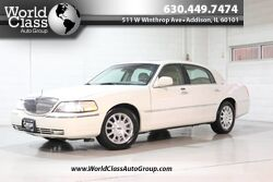 Lincoln Town Car Cartier Premium - HEATED LEATHER SEATS POWER ADJUSTABLE SEATS SUN ROOF PARKING SENSORS ALLOY WHEELS 2003