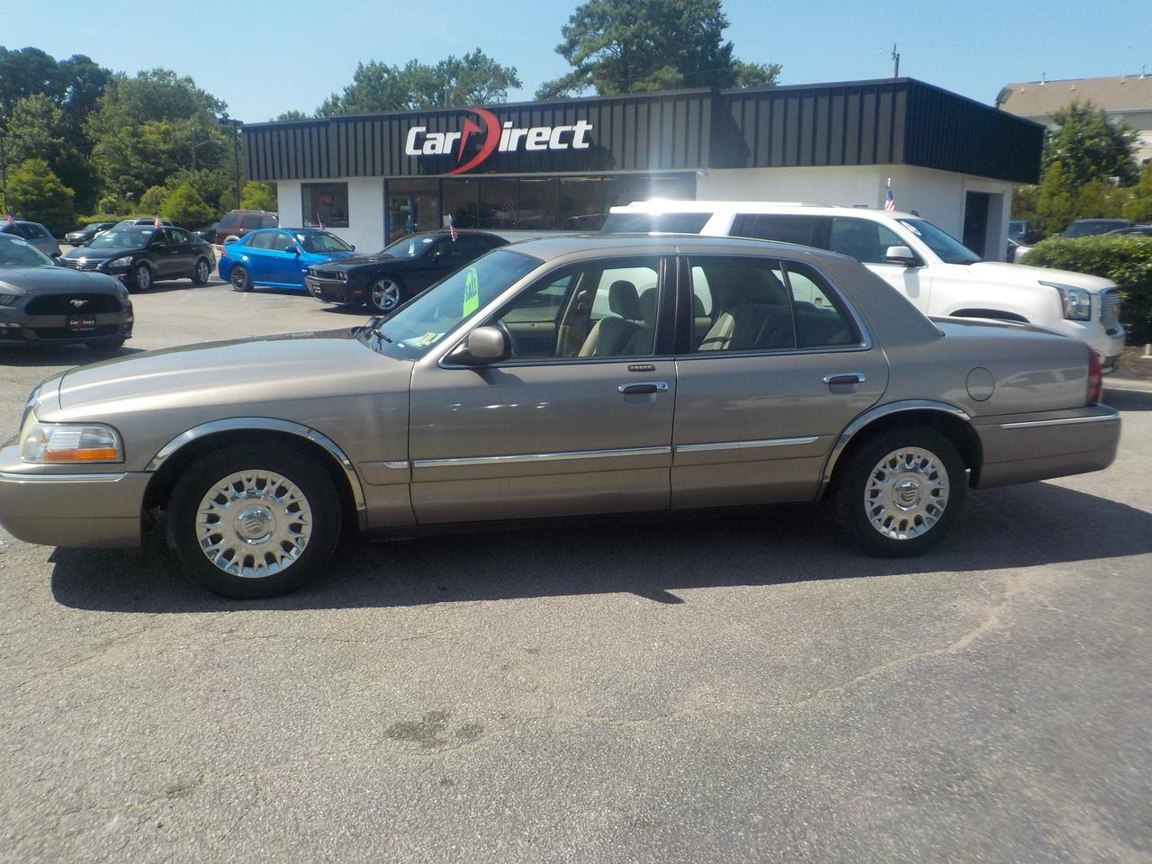 2003 MERCURY GRAND MARQUIS GS, WHOLESALE TO THE PUBLIC GET IT BEFORE IT GOES TO AUCTION, CD PLAYER, A/C!!