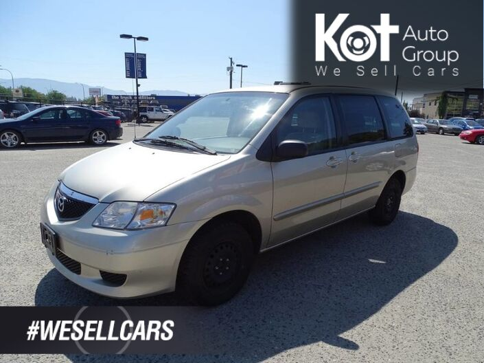 2003 Mazda MPV Wagon LX, A/C, Low KM's, Cruise Control, Great Family Vehicle Kelowna BC