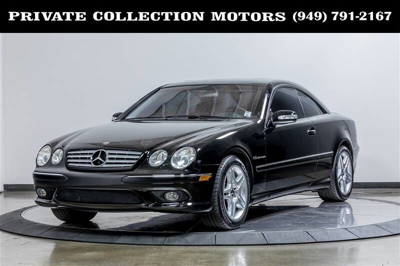 2003_Mercedes-Benz_CL55 AMG_5.5L AMG Clean Carfax Low Miles_ Costa Mesa CA