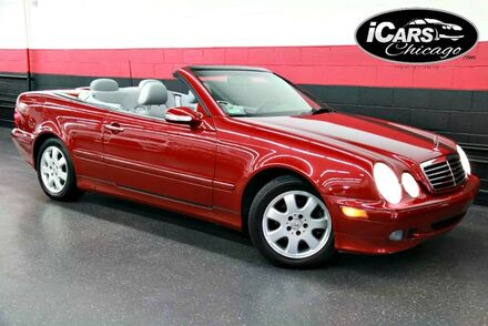 2003_Mercedes-Benz_CLK320_2dr Convertible_ Chicago IL