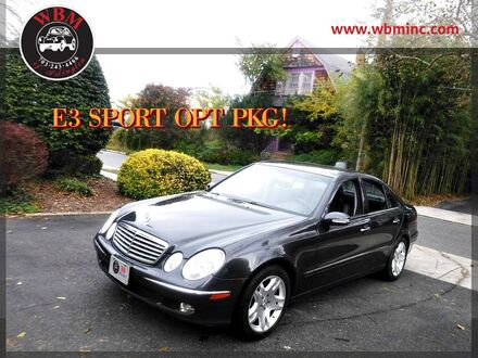 2003_Mercedes-Benz_E 500_Sedan_ Arlington VA