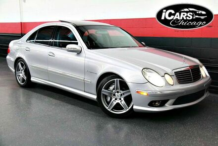 2003_Mercedes-Benz_E55_AMG 4dr Sedan_ Chicago IL