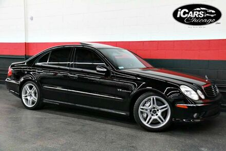 2003_Mercedes-Benz_E55 AMG_4dr Sedan_ Chicago IL