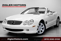 2003_Mercedes-Benz_SL 500 One Owner_Convertible Sport Package Very Low Miles Clean Carfax_ Addison TX