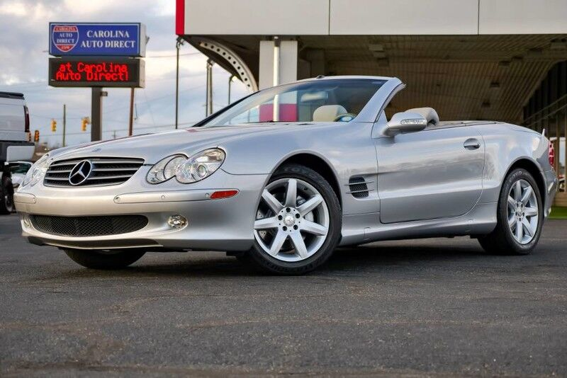 2003 Mercedes-Benz SL 500 Roadster **LOW MILES** Hard Top Convertible w/ Heated Front Seats Mooresville NC