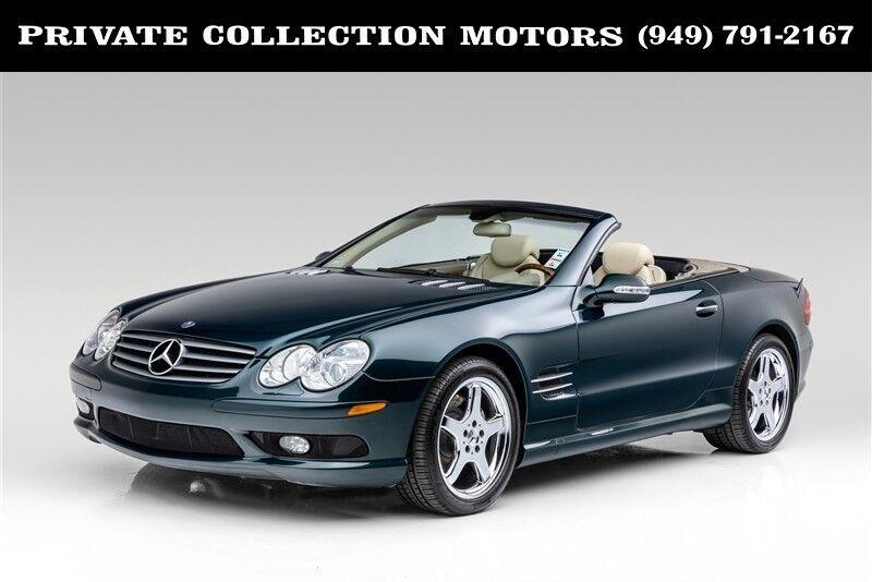 2003_Mercedes-Benz_SL-Class_SL500 Only 29k Miles Clean Carfax_ Costa Mesa CA