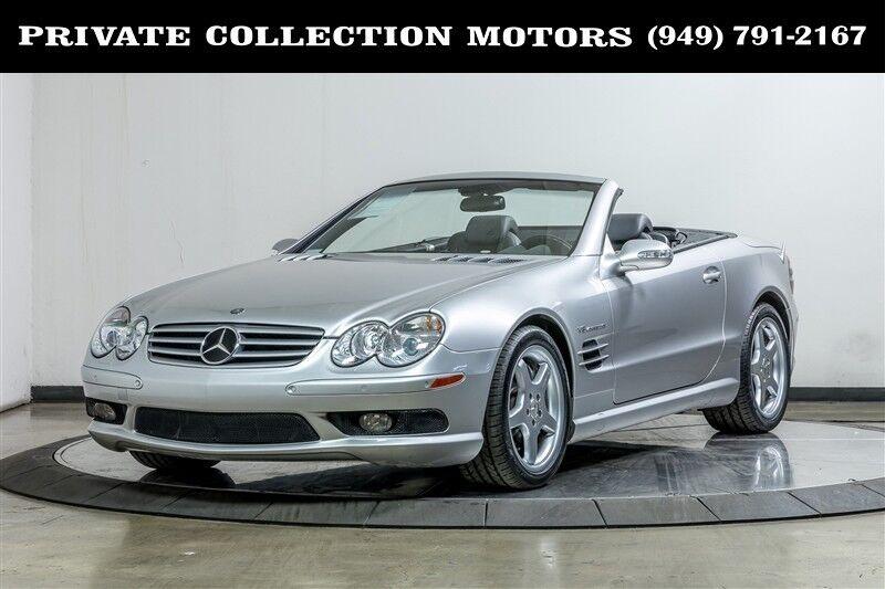 2003_Mercedes-Benz_SL-Class_SL55 AMG_ Costa Mesa CA