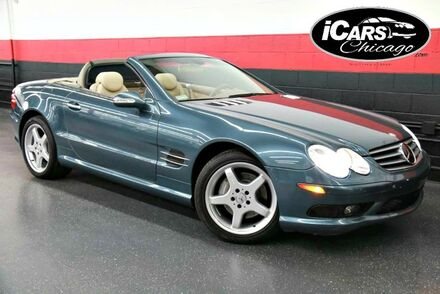 2003_Mercedes-Benz_SL500_AMG Sport 2dr Convertible_ Chicago IL