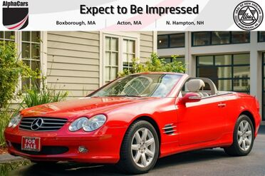 2003_Mercedes-Benz_SL500_Roadster_ Boxborough MA