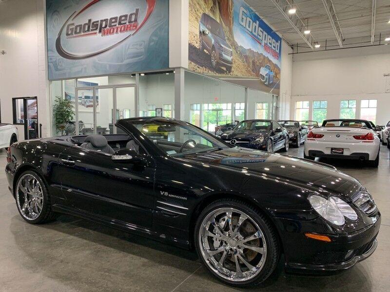 2003_Mercedes-Benz_SL55_AMG 115K MSRP_ Charlotte NC