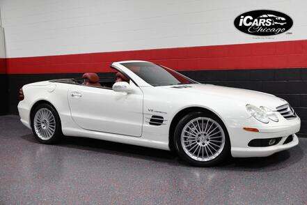 2003_Mercedes-Benz_SL55_AMG 2dr Convertible_ Chicago IL