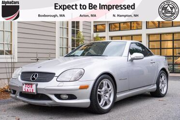 2003_Mercedes-Benz_SLK32_AMG Hard Top Roadster_ Boxborough MA