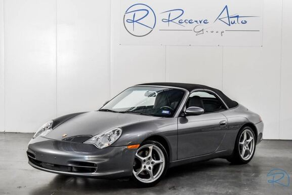 2003_Porsche_911 Carrera_Cabriolet Full Leather BOSE Pwr Seats Xenons_ The Colony TX