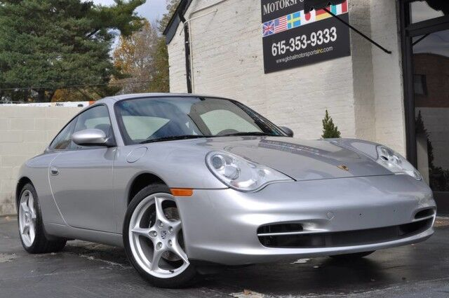 2003 Porsche 911 Carrera Coupe/6-Speed Manual Transmission/Heated Sport Seats/Full Leather Package w/ Porsche Crest/Bose Audio/RARE Sport Exhaust/Bi-Xenon Headlights/Alcantara Headliner Nashville TN
