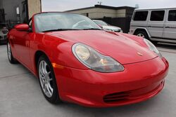 Porsche Boxster 5-Spd Manual,LOW MILES,CLEAN CARFAX! 2003