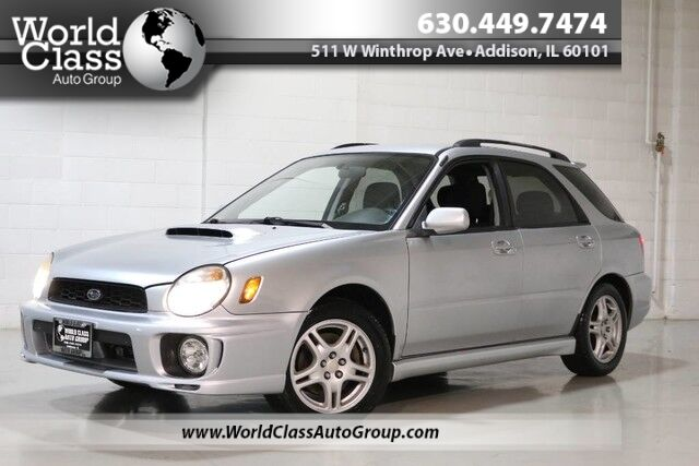 2003 Subaru Impreza Wagon WRX - AWD MANUAL TRANSMISSION FAST CLEAN AFTERMARKET ACCESSORIES & WHEELS Chicago IL