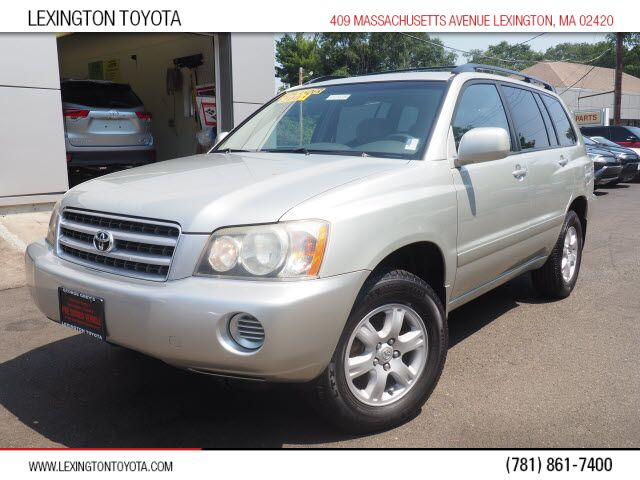 2003 Toyota Highlander Base Lexington MA
