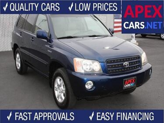 Toyota Highlander Limited 2003