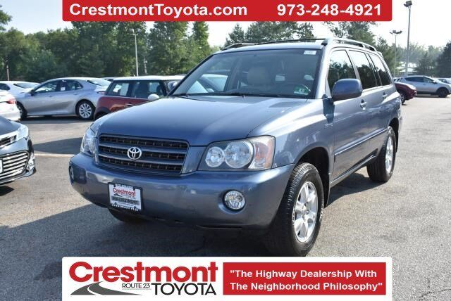 2003 Toyota Highlander Limited Pompton Plains NJ