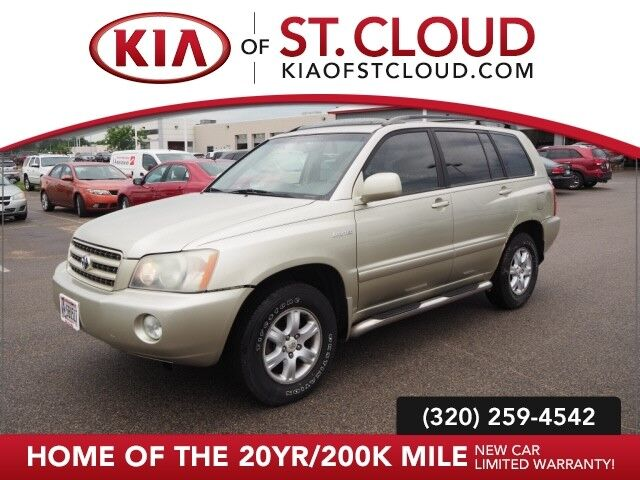 2003 Toyota Highlander Limited St. Cloud MN