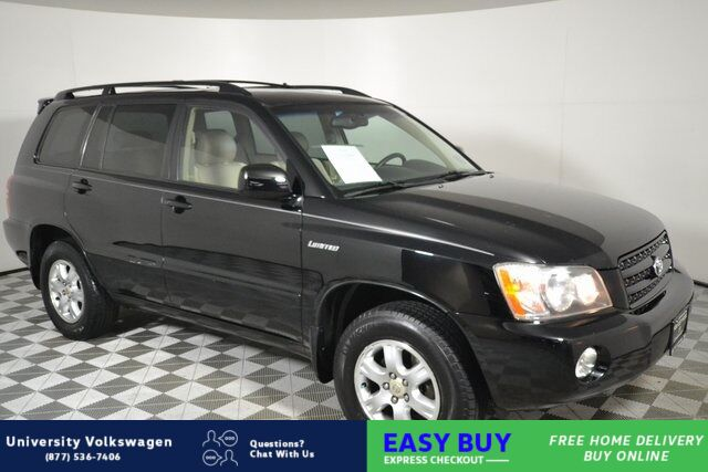 2003 Toyota Highlander V6 Seattle WA