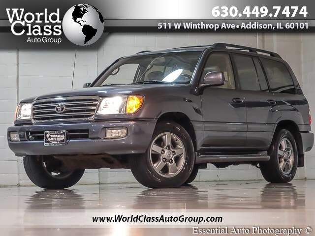 2003 Toyota Land Cruiser AWD LEATHER & HEATED SEATS NAVIGATION ALLOY WHEELS Chicago IL