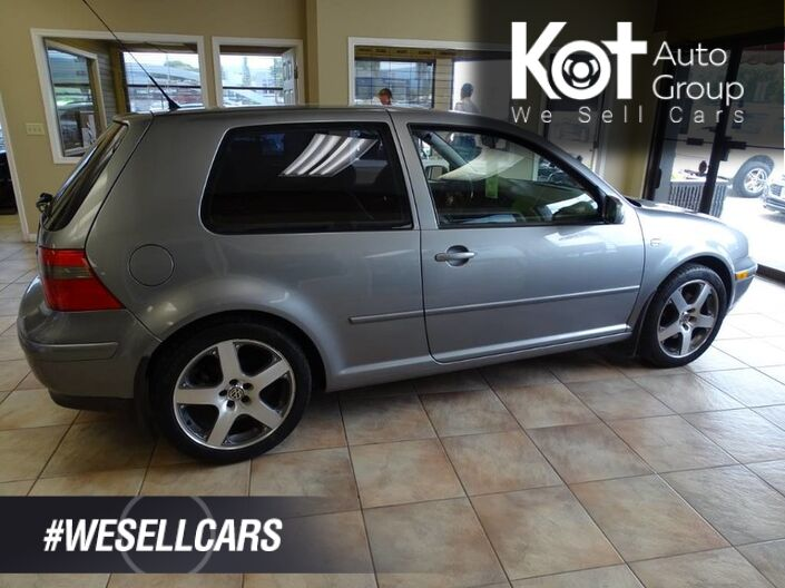 2003 Volkswagen Golf GTI, Turbo Engine, Heated Leather Seats, Sunroof, Hatchback Kelowna BC