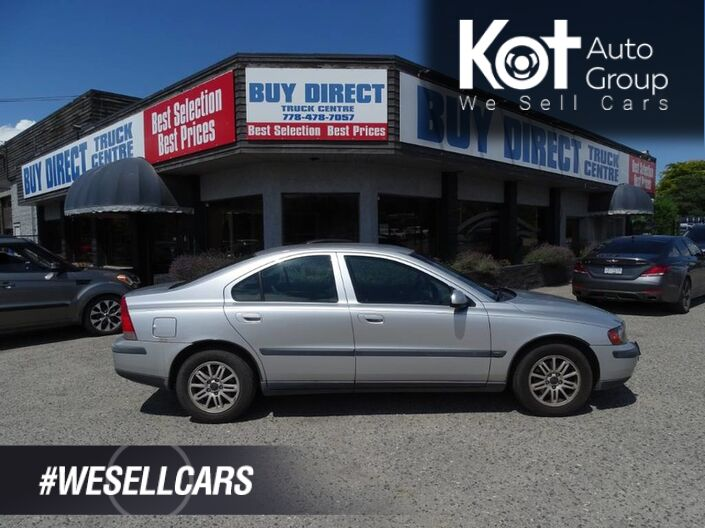 2003 Volvo S60 Heated Seats  Kelowna BC