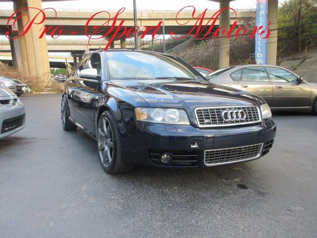 2004 AUDI S4 sedan W Conshohocken PA