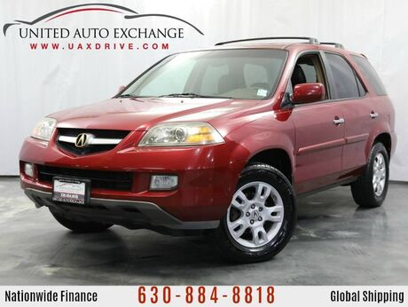2004 Acura MDX 3.5L V6 AWD Touring Pkg w/Sunroof, Bose Sound System & Roof Rack Addison IL