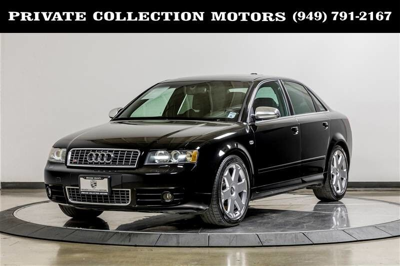 2004 Audi S4 1 Owner Clean Carfax Manual Costa Mesa CA
