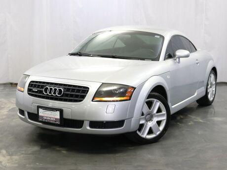 2004 Audi TT 1.8L Turbocharged Engine 225hp / AWD Quattro / MANUAL TRANSMISSION Addison IL
