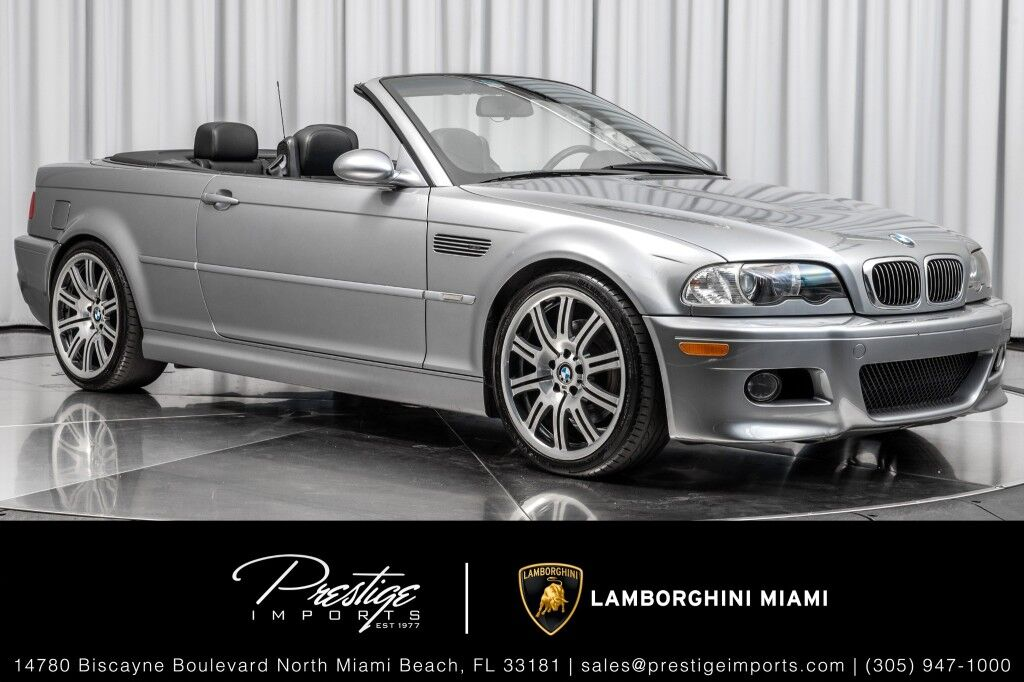 2004_BMW_3 Series_M3_ North Miami Beach FL