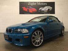 2004_BMW_M3_Convertible Two owner Clean Carfax. STUNNING Laguna Seca Blue_ Addison TX