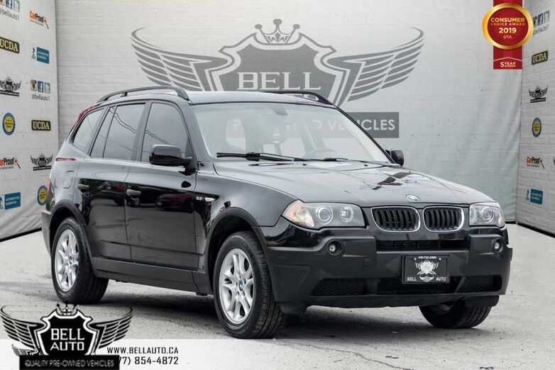 2004 BMW X3 2.5i, AWD, BLUETOOTH, A/C, HEATED SEAT, LEATHER, PWR WINDOWS & LOCKS Toronto ON