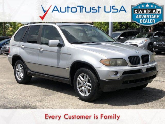 2004 BMW X5 3.0i MECHANIC SPECIAL RUNS DRIVES SUNROOF TV/DVD - VALU Miami FL
