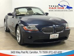 2004_BMW_Z4 3.0i_AUTOMATIC LEATHER HEATED SEATS AUTOMATIC CLIMATE CONTROL ALLOY W_ Carrollton TX