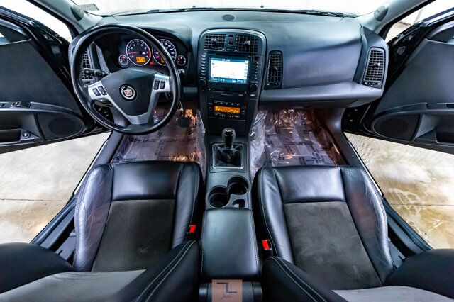 2004 Cadillac CTS-V Manual Leather Roof Nav Stage 3 Cams Exhaust Red Deer AB