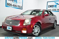 2004_Cadillac_CTS_V6 BOSE LEATHER SUNROOF HEATED SEATS ONSTAR ALLOYS HOMELINK_ Houston TX