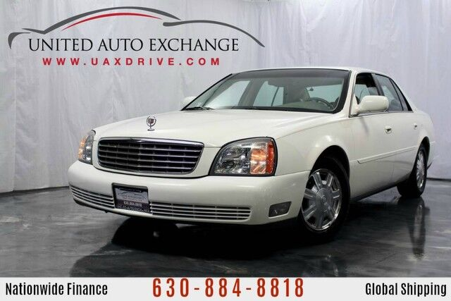 2004 Cadillac DeVille 4.6L V8 Northstar Engine w/ Daytime Running Lights, Tri-Zone Automatic Climate Control, On-Starr Equipped, 8-Speaker Sound System Addison IL