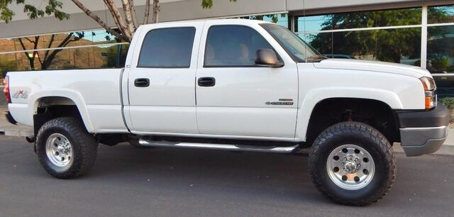 2004 Chevrolet 2500HD SILVERADO CREW SB LS PKG LIFTED DURAMAX DIESEL CLEANEST IN THE NATION Phoenix AZ
