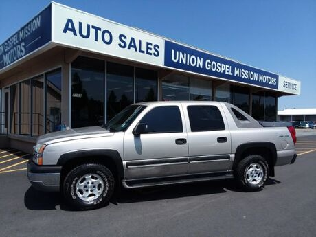 2004 Chevrolet Avalanche 1500 4WD Spokane Valley WA