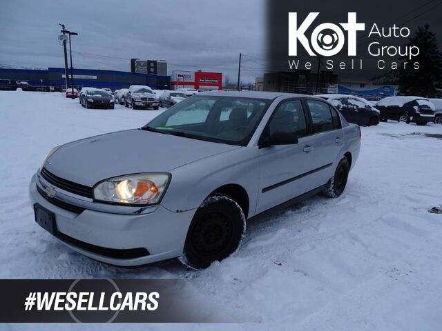 2004 Chevrolet Malibu Extra Set of Tires Kelowna BC