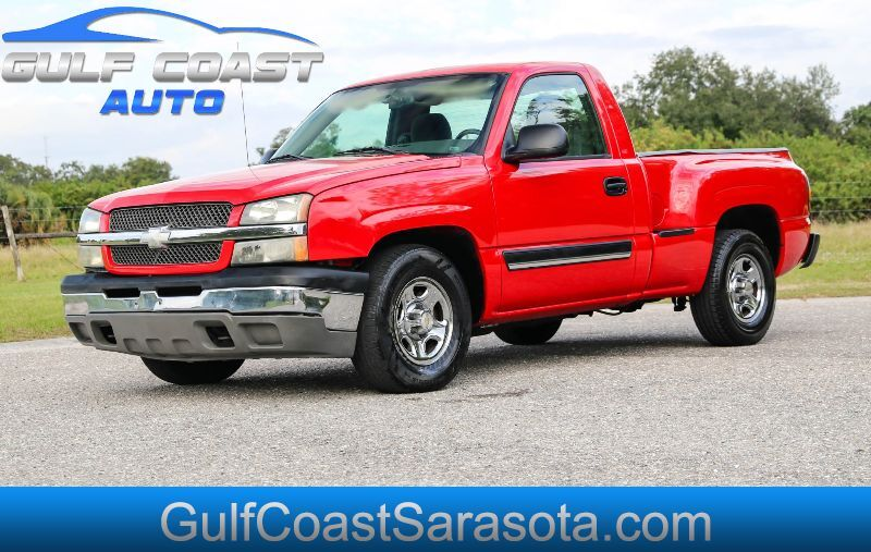 2004 Chevrolet SILVERADO 1500 LS STEPSIDE NEW TIRES FL TRUCK FLARESIDE