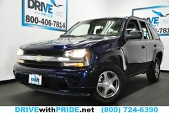2004_Chevrolet_TrailBlazer_LS ALLOY WHEELS HITCH RECEIVER PWR LOCKS WINDOWS_ Houston TX